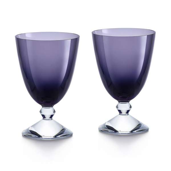 Fußbecher violett (2 Stk.)