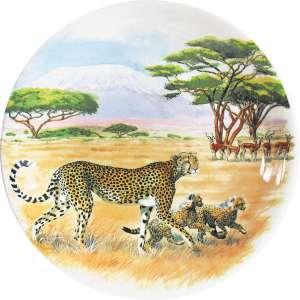 Frühstücksteller 22 cm Gepard