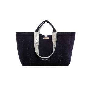 Half Size Bag uni dark blue