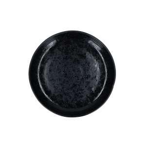 Pastateller 22 cm schwarz