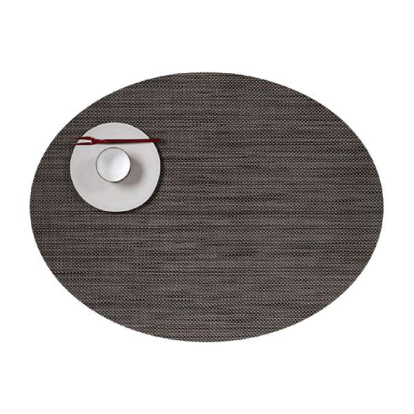 Tischset 36x49 cm oval Light Grey