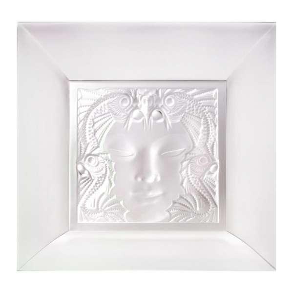 Schale quadratisch Masque de famme 10 cm klar