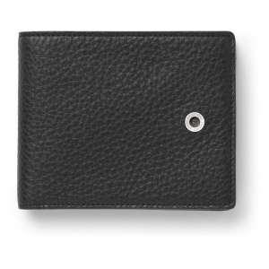 Geldbörse schwarz groß