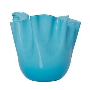 Vase 24 cm aquamarin