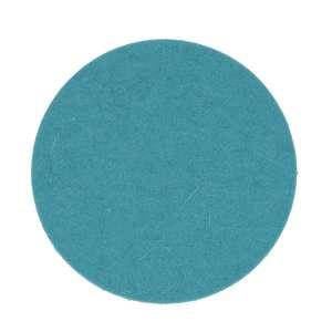 Untersetzer rund 9 cm pastelltürkis 64