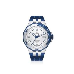 Armbanduhr Delfin silber/blau Quarz