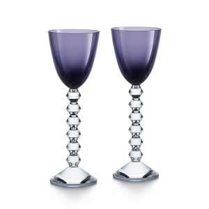 Rheinweinglas violett (2 Stk.)