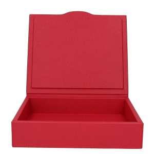 Box groß, Golf rot, Naht rot