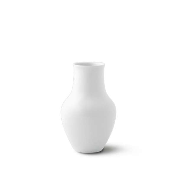 Vase Salier klein 17 cm weiß