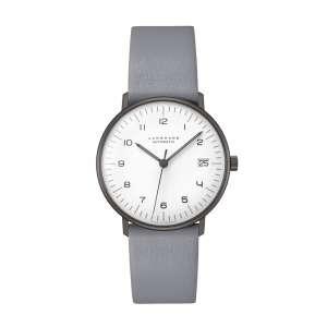 Armbanduhr Max Bill kleine Automatik schwarz