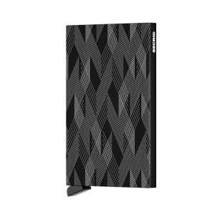 Cardprotector Laser Zigzag black