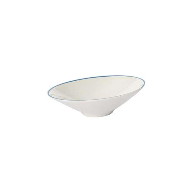 Dip-Schale oval 13,5 cm hellblau