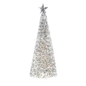 Tischleuchte Weihnachtsbaum 28x11 cm Acryl