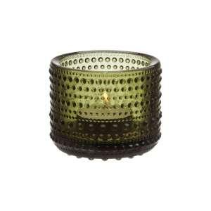 Windlicht 6,4 cm moosgrün