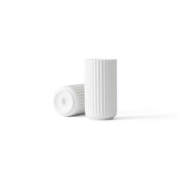 Vase 15 cm weiß