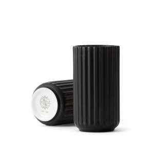 Vase 15 cm matt schwarz