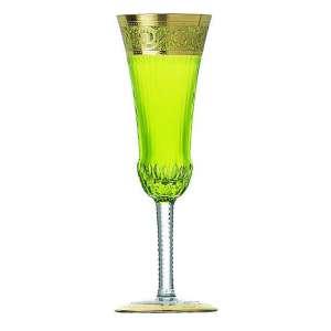 Champagnerflöte pistazie