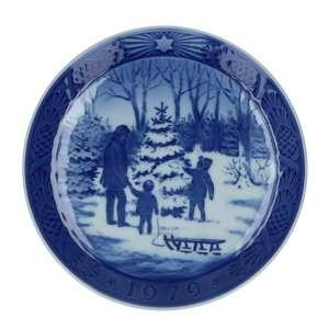 Weihnachtsteller 1979, 18 cm