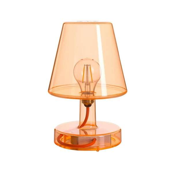 Tischlampe orange