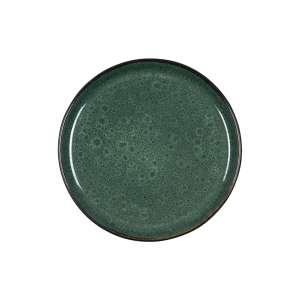 Frühstücksteller 21 cm schwarz/grün