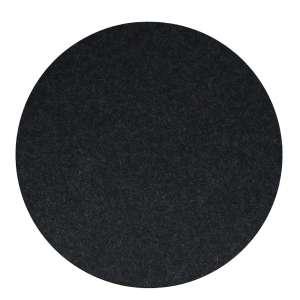 Untersetzer rund 40 cm graphit 08