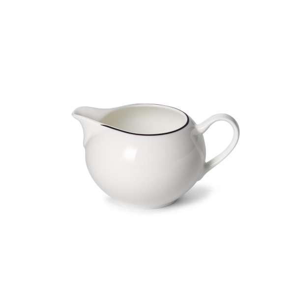 Milchgießer rund 0,30 l schwarz