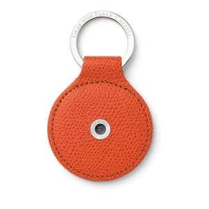 Schlüsselanhänger rund burned orange