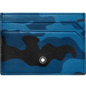 Kreditkartenetui 5 cc Sartorial Camouflage blau