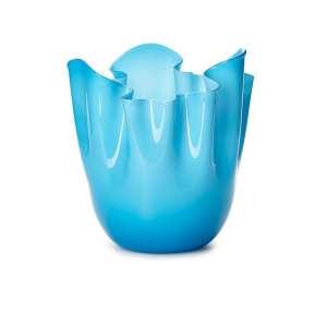 Vase 31 cm aquamarine