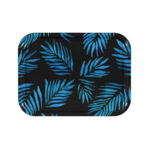 Tablett 27x20 cm blau