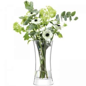 Vase 30 cm klar