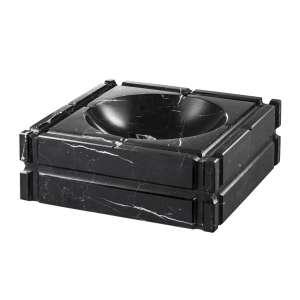 Aschenbecher Marmor schwarz