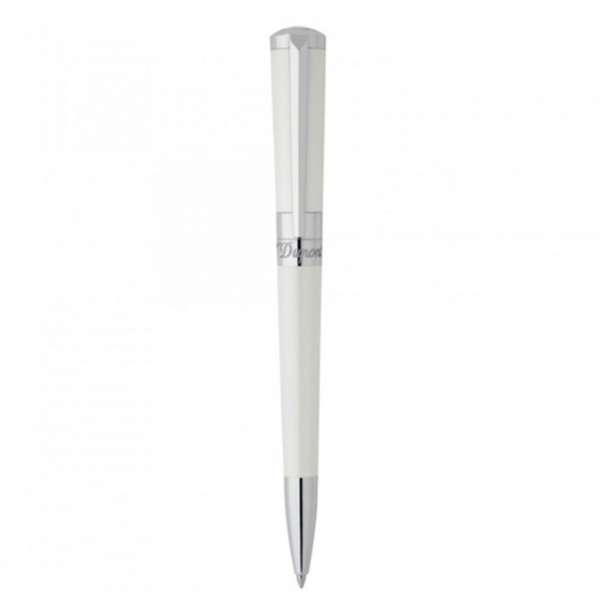 Kugelschreiber Lack weiß Palladium