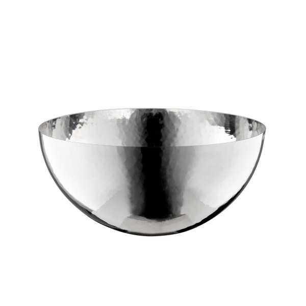 Schale 12 cm glatter Rand versilbert