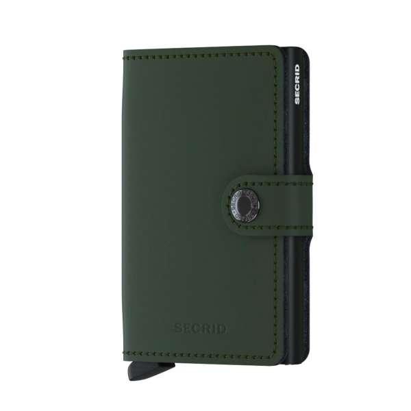 Miniwallet Matte green/black