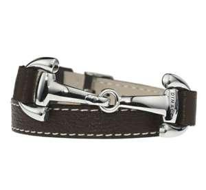 Armband Edelstahl, mokka