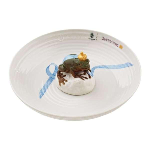 Schale mit Frosch 21 cm