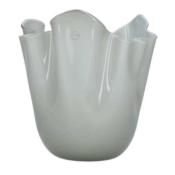 Vase 24 cm grau