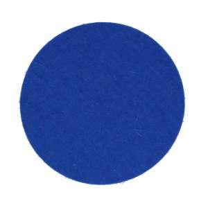 Untersetzer rund 9 cm blau 10