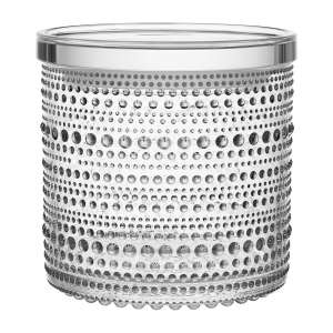 Dose m. Deckel 11,6x11,4 cm klar