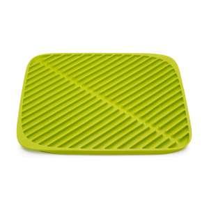 Ausgussmatte faltbar 'Flume' klein (31x31x1cm) grün