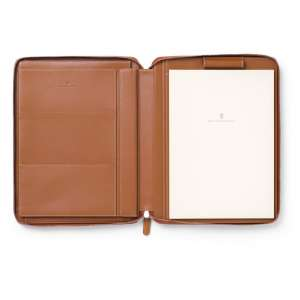 Schreibmappe/ Tablet-Hülle A4 cognac