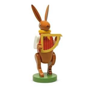 Hasenmusikant m. Harfe