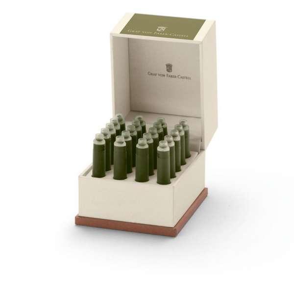 Tintenpatronen 20x Olive Green