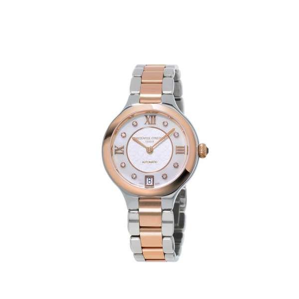 Armbanduhr Delight 8 Diamanten zus. 0,01 ct Edelstahl teilvergoldet Automatik
