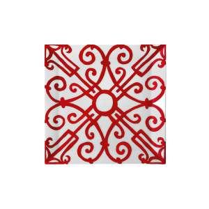 Platte quadratisch 19x19 cm Nr. 4