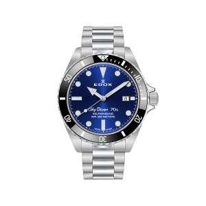 Armbanduhr Skydiver Automatik blaues Zifferblatt 42mm