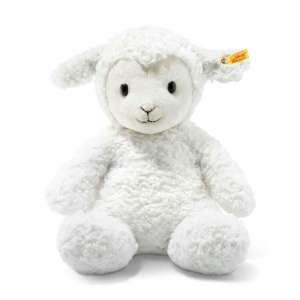 Lamm Fuzzy 38 cm weiß
