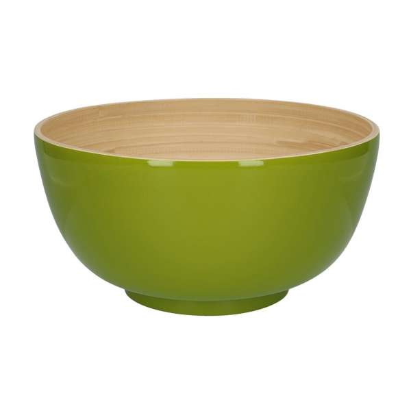 Schüssel 28 cm Lack olive
