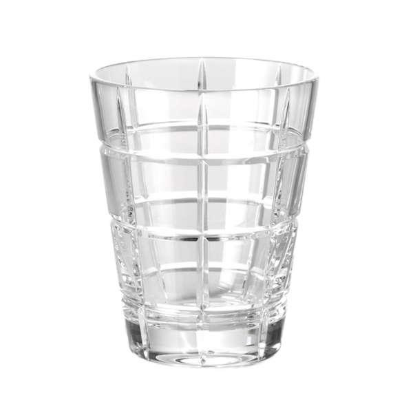 Universalglas 0,33 l klar squares
